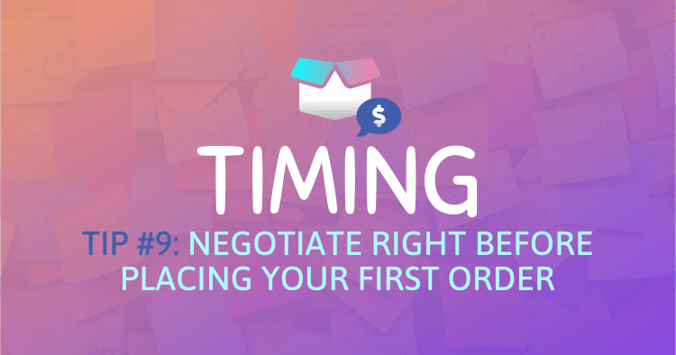 Better Prices During Amazon Supplier Negotiation Process