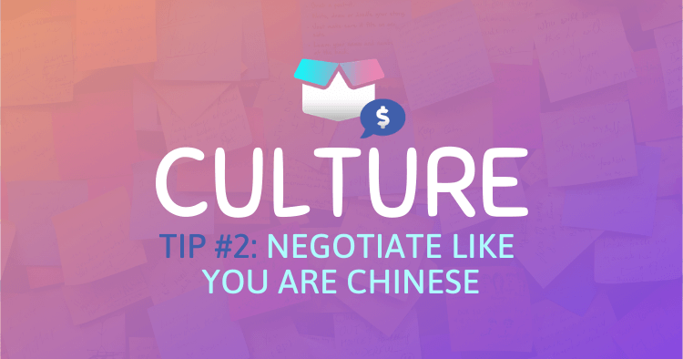 Chinese Culture And Amazon Supplier Negotiation Strategy
