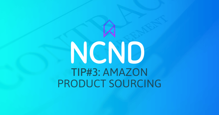 Sign NCND Agreement Before Discussing Product Ideas When Amazon Product Sourcing
