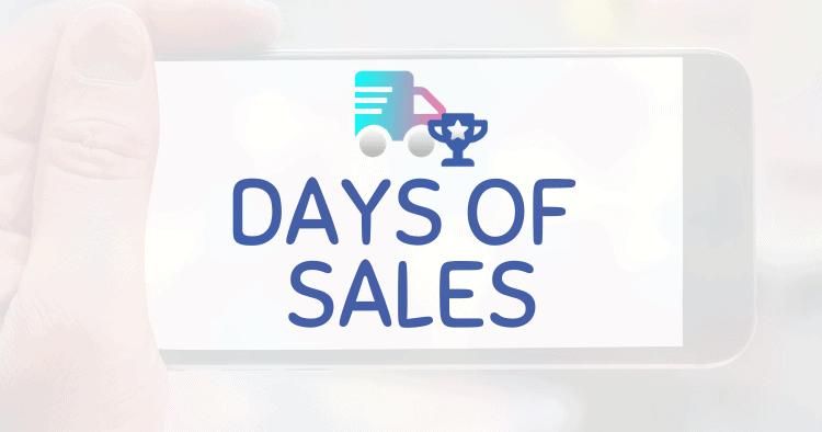 Amazon Days of Sales Best Practices Logistics