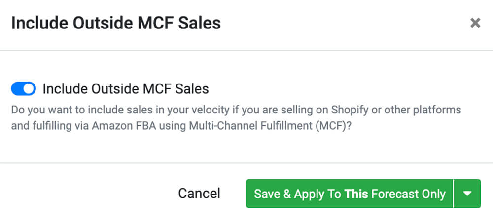 Multi-Channel Fulfillment Sales Review for SoStocked