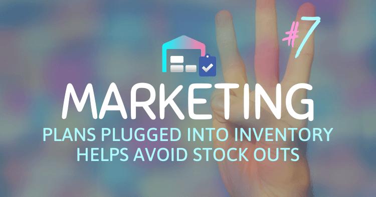 Plug Amazon Marketing Plans into Inventory Managment Plans Inventory Technique