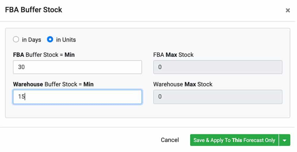 Adopting Buffer Stock Automate Amazon Inventory Forecasting