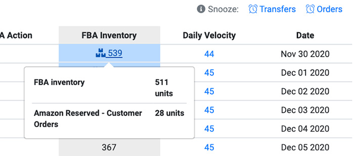 FBA Inventory Automate Amazon Inventory Forecasting
