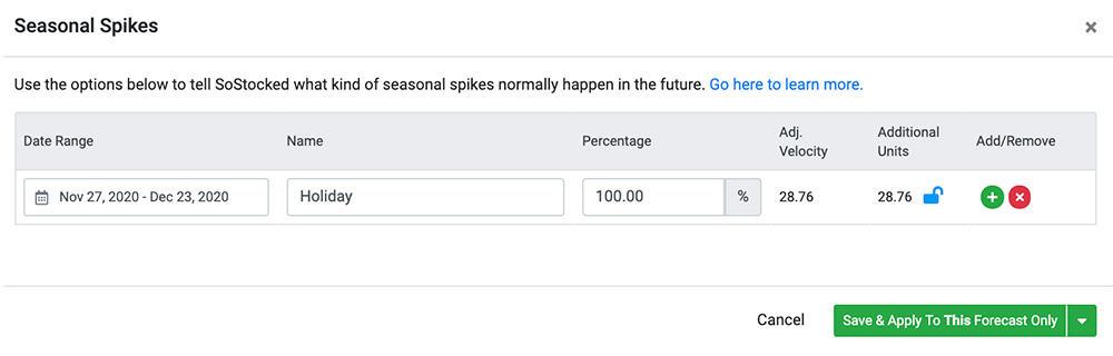 Seasonal Spikes Automate Amazon Inventory Forecasting