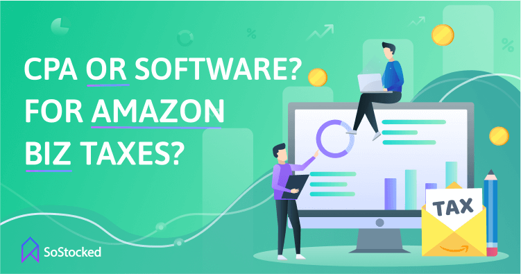 CPA or Tax Software for Amazon Seller Business Taxes
