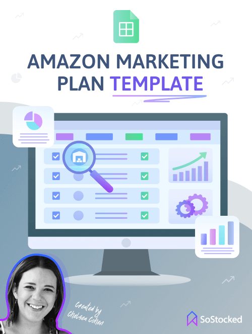 Amazon Inventory Minded Marketing Planner Template