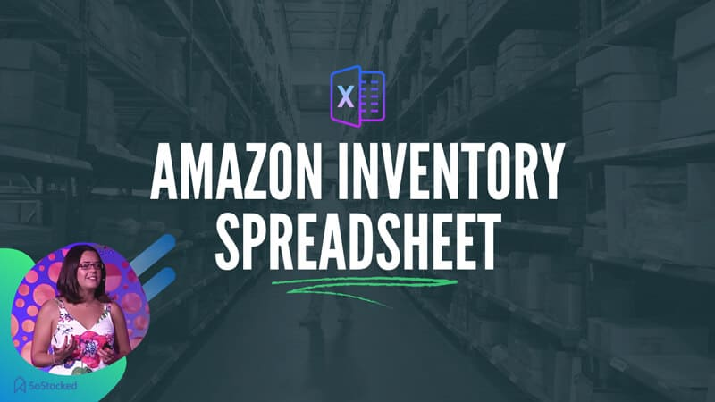 Amazon FBA Inventory Spreadsheet Template Tutorial